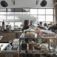 Blue Bottle Coffee Webster Streetの店舗写真