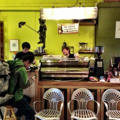 manu coffee 大名店の店舗写真