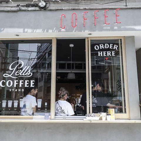 PELLS COFFEE STANDの店舗写真