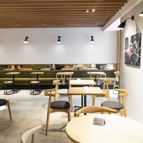 RETHINK CAFE GINZAの店舗写真
