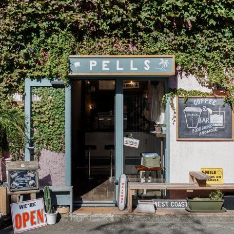PELLS coffee&barの店舗写真