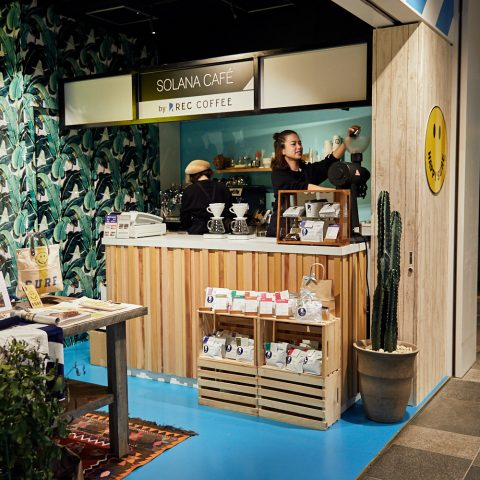 SOLANA CAFÉ by REC COFFEEの店舗写真